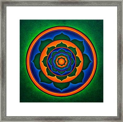 Integration Framed Print