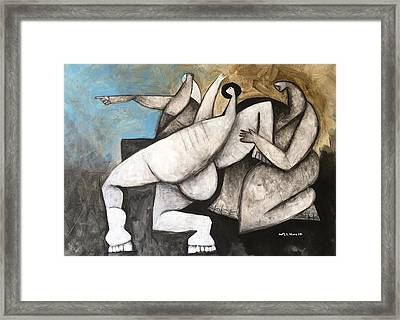 Intellectus No. 4  Framed Print by Mark M Mellon