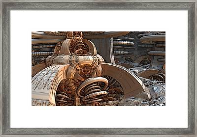 Intelligence Deflector Framed Print