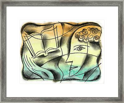 Intelligence, Knowledge, Learning Framed Print