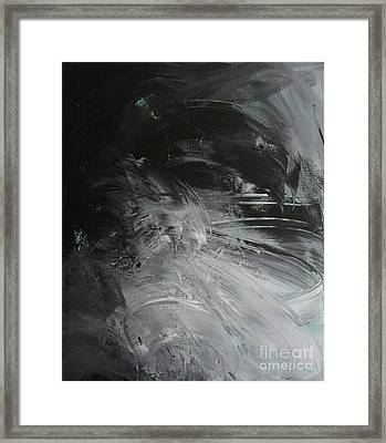 Framed Print featuring the painting Intelligent Answers by Robin Maria Pedrero