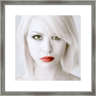Intense Beauty Framed Print by Michael Scorsur