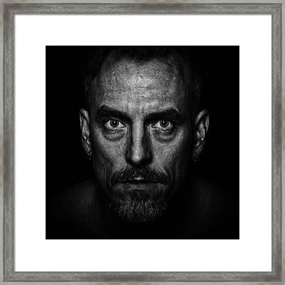 Intensify Framed Print by CJ Schmit