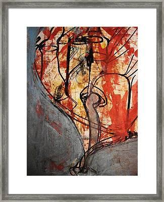 Intensify Framed Print by Hugo Razlerfight