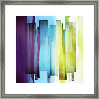 Intensity Framed Print by Katherine Smit