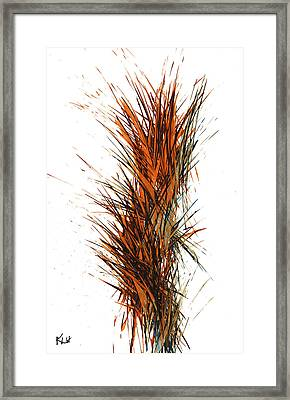 Framed Print featuring the painting Intensive Abstract Painting 1030.050512 by Kris Haas