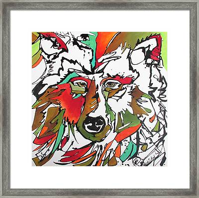 Framed Print featuring the painting Intent by Nicole Gaitan
