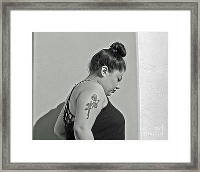 Intent On Yesterday Framed Print