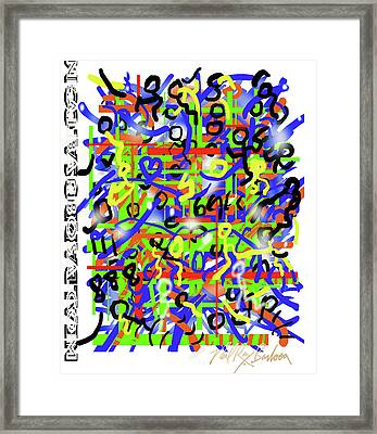 Intention Somniack Framed Print
