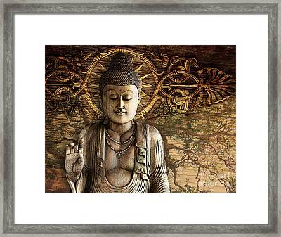 Intentional Bliss Framed Print