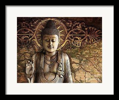 Brown Toned Mixed Media Framed Prints