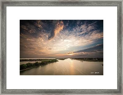 Intercoastal Sky Framed Print