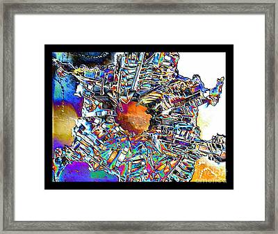 Interconnected Framed Print
