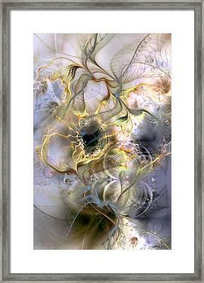 Interconnectedness Of Life Framed Print by Casey Kotas