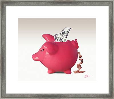 Interest Is A Lot Of... Framed Print