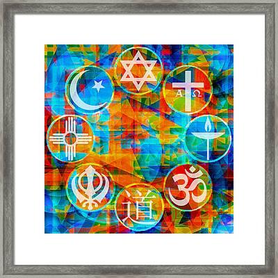 Interfaith 1 Framed Print