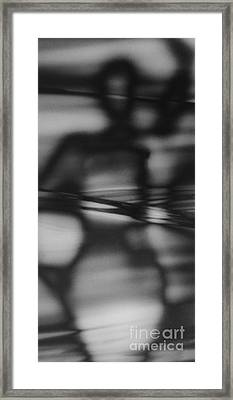 Interference 1 Framed Print