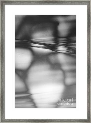 Interference 2 Framed Print
