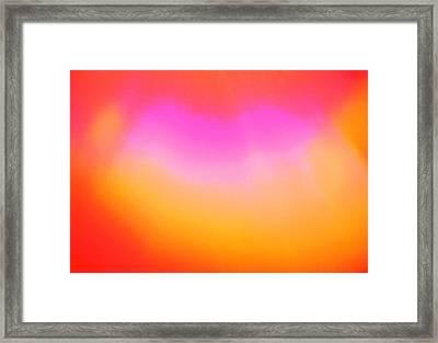 Interfuse Framed Print by Nereida Slesarchik Cedeno Wilcoxon