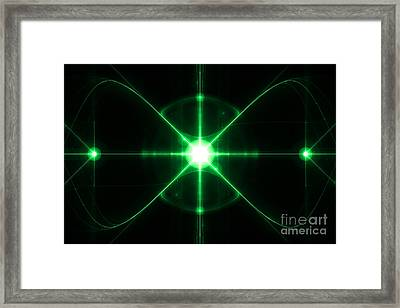 Intergalactic Framed Print