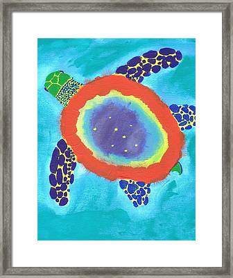 Intergalactic Framed Print by Yshua The Painter