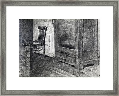Interior Framed Print by Elena Senina