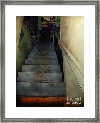 Interior Landscape Framed Print