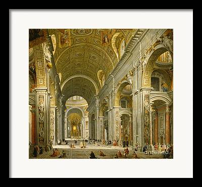 The Vatican Framed Prints