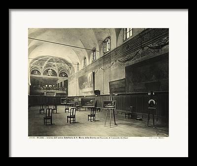 Dining Hall Framed Prints