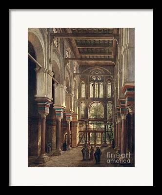 House Of Worship Framed Prints