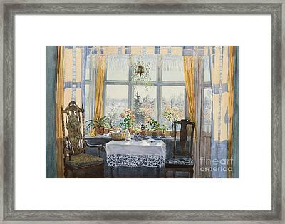 Interior Scene  Framed Print