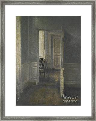Interior With Windsor Framed Print by MotionAge Designs