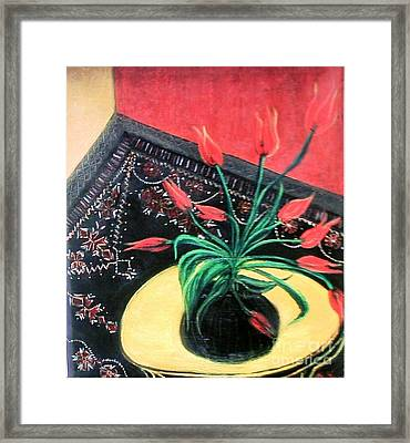 Interiors Framed Print by Duygu Kivanc