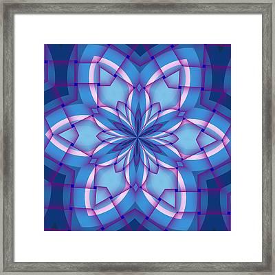 Interlaced Framed Print