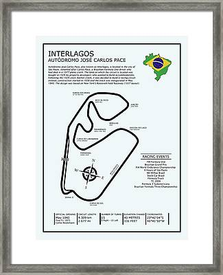 Interlagos Brazil Framed Print