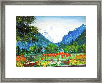 Interlaken Framed Print