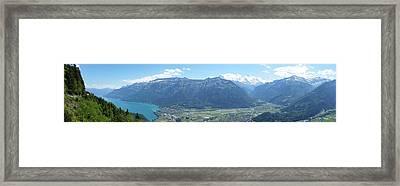Interlaken Switzerland Framed Print