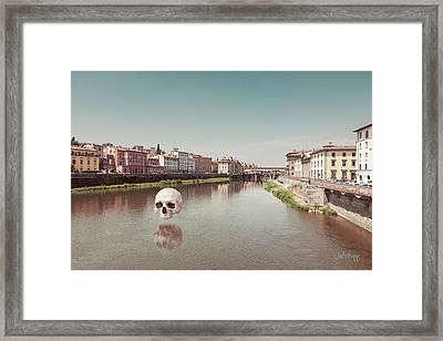 Framed Print featuring the photograph Interloping, Florence by Joseph Westrupp