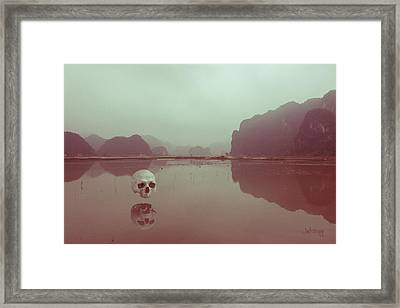 Framed Print featuring the photograph Interloping, Vietnam by Joseph Westrupp