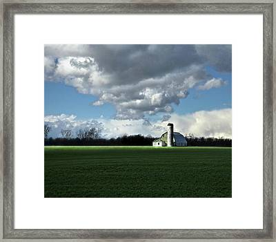 Framed Print featuring the photograph Interlude by Robert Geary