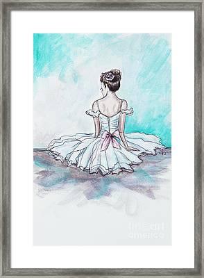 Intermission Framed Print by Elizabeth Robinette Tyndall