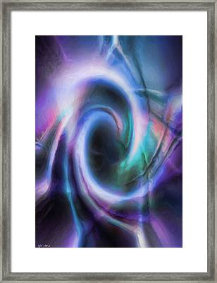 Internal Abstract Framed Print by Tyler Robbins