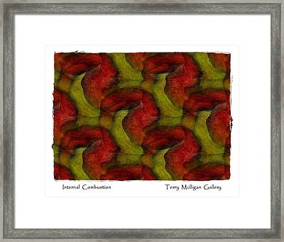 Internal Combustion Framed Print by Terry Mulligan