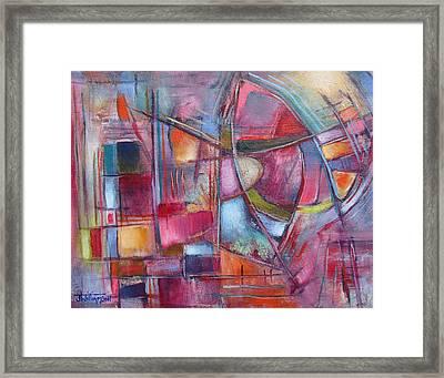 Internal Dynamics # 8 Framed Print