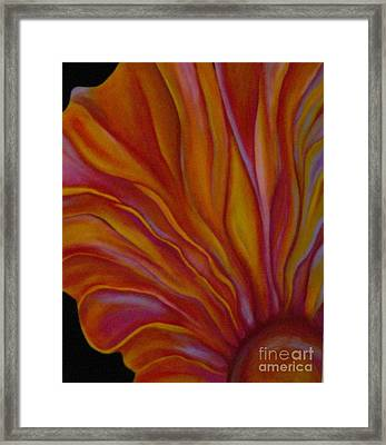 Internal Floral Framed Print by Sidra Myers
