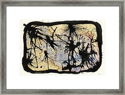 Internal Landscape Four Framed Print by Mark M  Mellon