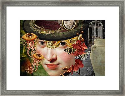 Internal Warfare Framed Print