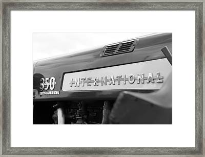 International 350 Framed Print