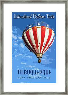 International Balloon Fiesta Framed Print