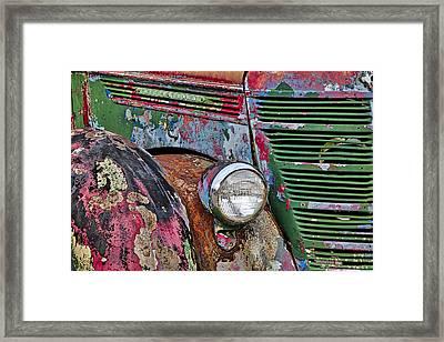 International Car Details Framed Print